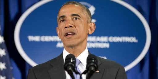 Obama and Ebola: Perception and Reality