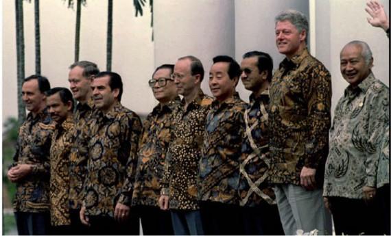 APEC Shirts Indonesia 1994