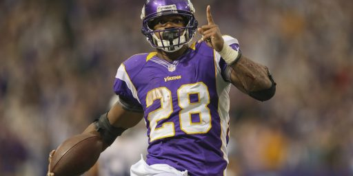 Arbitrator Upholds Adrian Peterson Suspension