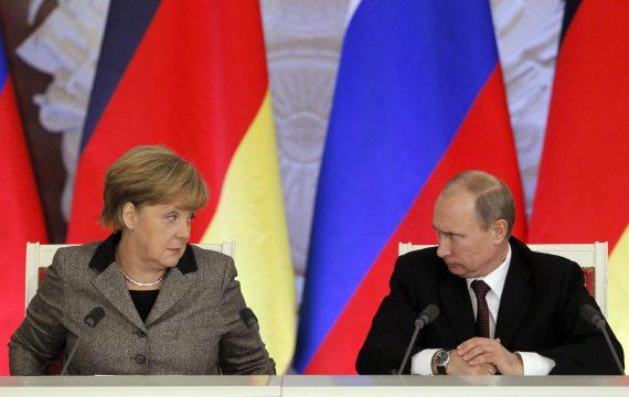Angela Merkel Vladimir Putin