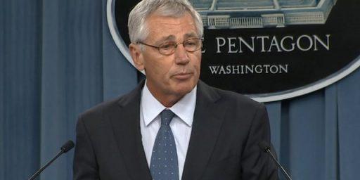 "Defense Secretary Chuck Hagel Stepping Down ""Under Pressure"""