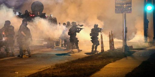 Warnings Of Violence In Ferguson Could Become Self-Fulfilling Prophecy