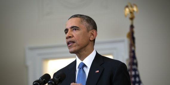 Obama Makes Statement On U.S.-Cuba Policy