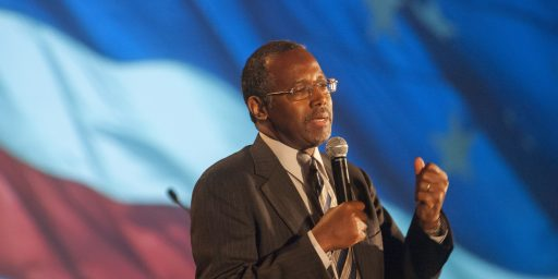 Ben Carson, Not A Serious Candidate, Still Equates America To Nazi Germany