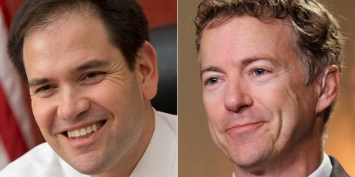 Rand Paul, Marco Rubio Exchange Barbs Over Cuba Policy Changes