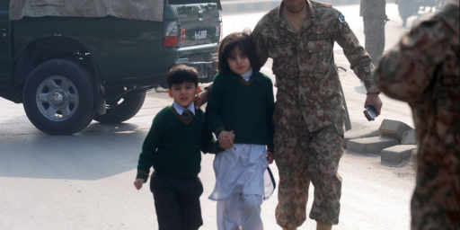 Taliban Attack On Pakistan Kills Up To 126, At Least 100 Children