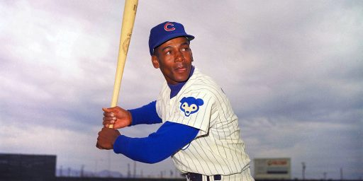 "Ernie Banks, MLB Hall Of Famer And ""Mr. Cub,"" Dies At 83"