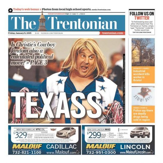 chris-christie-cowboys-texass-trentonian