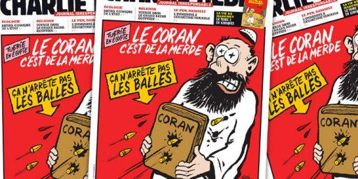 Terror Attack Kills 11 at French Satirical Newspaper Charlie Hebdo