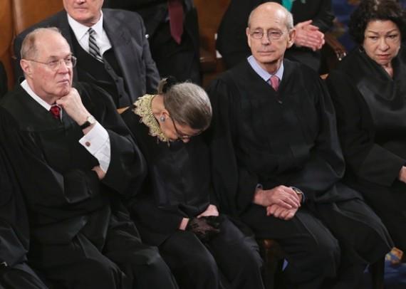 Ginsburg Sleeping