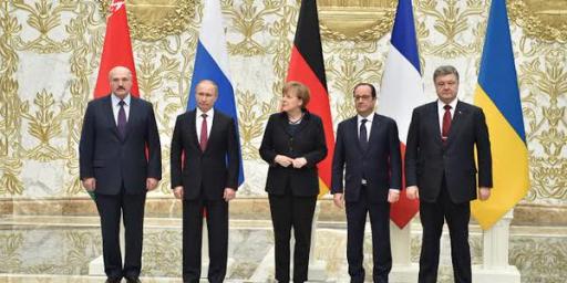 Minsk Talks Result In Ukrainian Cease Fire Agreement