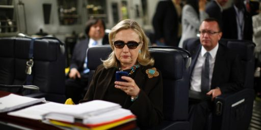 Hillary Clinton Tries To Quell Controversy Over Email, But Only Creates More Question