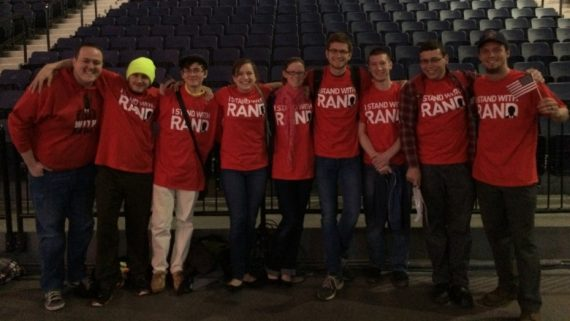 Liberty Univ Stand With Rand
