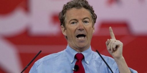 Rand Paul Wins Meaningless CPAC Straw Poll: A Family Tradition