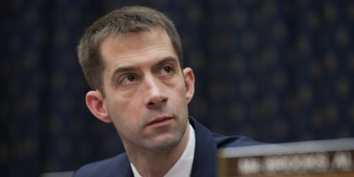 Tom Cotton and Mutiny