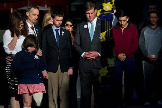 Boston Marathon Memorial Richard Family