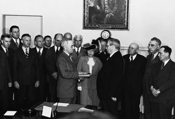 Truman Inauguration
