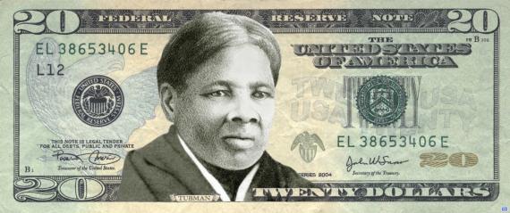 Harriet Tubman Twenty Dollar Bill