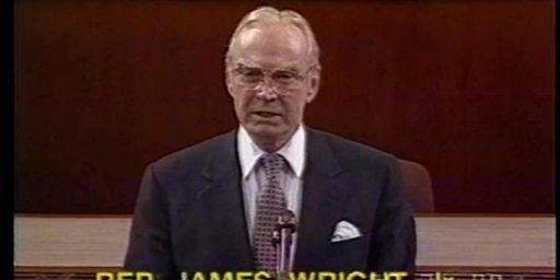 Former House Speaker Jim Wright Dead At 92