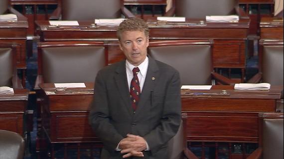 Rand Paul Senate Floor