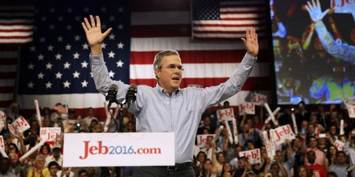 Jeb Bush Wants You To Know He's In Favor of Killing Baby Hitler