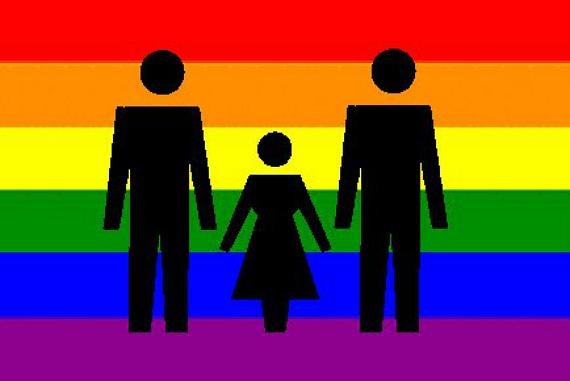 Rainbow Flag Family