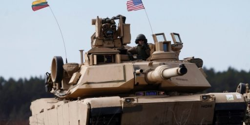 U.S. Poised To Store Military Equipment In Eastern Europe, Baltics