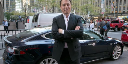 Elon Musk Beneficiary of $4.9 Billion in Government Subsidies