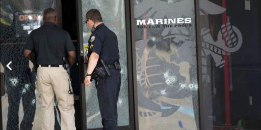 Four Marines Killed In Shootings At Chattanooga Military Sites