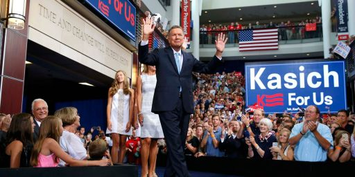 John Kasich Resisting Calls To Drop Out of Republican Race For President