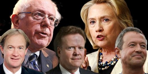 Clinton's Democratic Opponents Upset With Parsimonious Debate Schedule