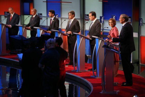 Republican Undercard Debate Aug 15