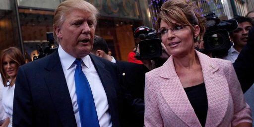 Sarah Palin Endorses Donald Trump