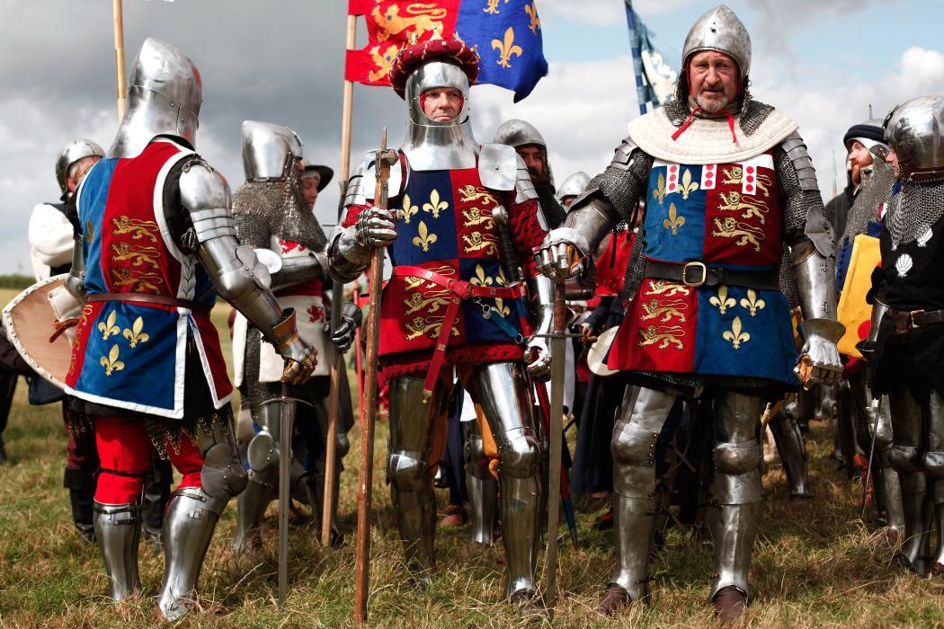APTOPIX France Britain Battle of Agincourt