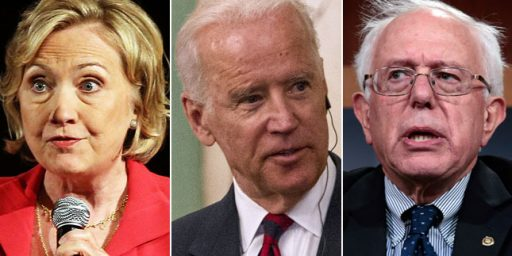 Sanders Continues To Cause Trouble For Clinton, Biden Could Cause More
