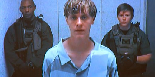 Dylann Roof Ruled Competent To Stand Trial