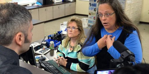 Kentucky Clerk Found In Contempt And Jailed For Refusal To Issue Same-Sex Marriage Licenses