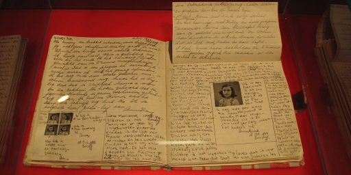 Foundation Seeks To Extend Copyright On Anne Frank's Diary By Naming Her Father As Co-Author