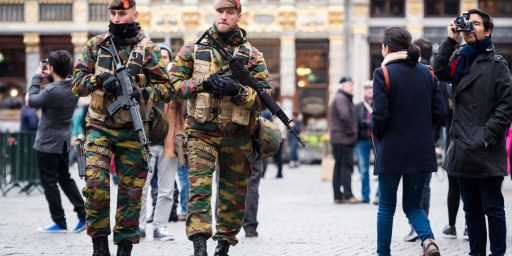 Brussels On 'High Alert' Over Fears Of Paris-Style Attack