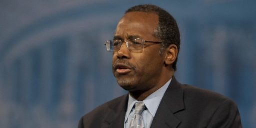 The Beginning Of The End Of Ben Carson Seems To Have Arrived