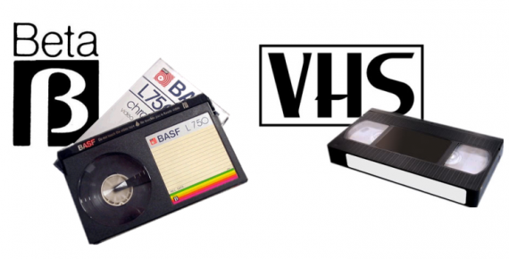 Image result for VHS vs. Betamax