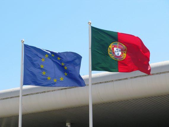 EUropean Portugese Flags