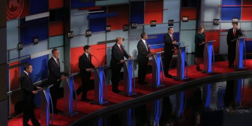 Republican Candidates For President Clash In Fourth Debate