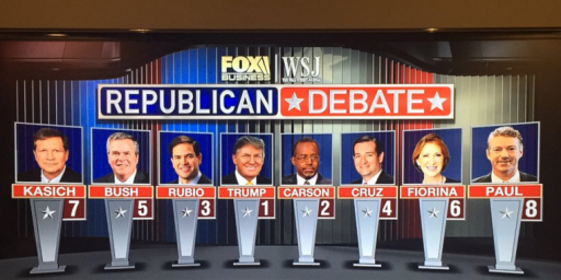 Christie, Huckabee Relegated To Undercard In November 10th Republican Debate