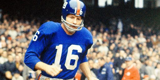 Frank Gifford, C.T.E., And The N.F.L.'s Continuing Concussion Problem