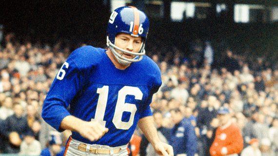 Frank Gifford Giants