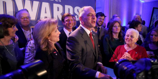Democrat John Bel Edwards Handily Defeats David Vitter In Louisiana Governor's Race