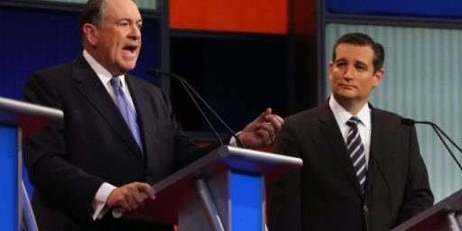 Ted Cruz, Mike Huckabee, And The Minister Who Thinks It's Okay To Kill Gay People