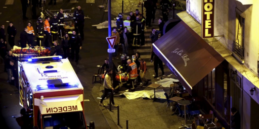 France Strikes ISIS As Investigation Into Paris Attacks Continues