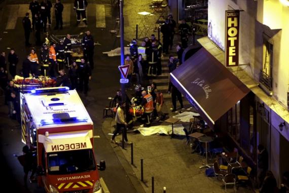 Paris Attack November 13-2